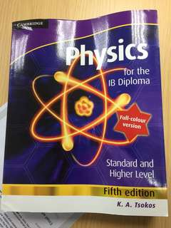 Physics ib textbook