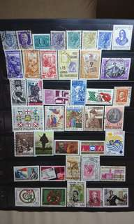 Italy Stamps 40 pcs lot mid-century some mint unused