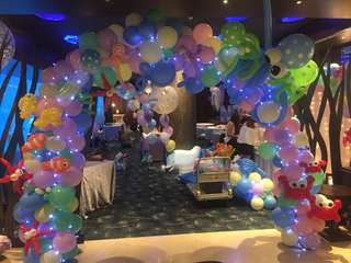 Balloon Arch/Deco services