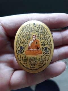 Wat Jaeng Lp Ping Locket Be2561