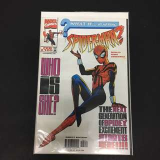 What If 105 Marvel Comics Book Spidergirl Cartoon Movie Spiderman Avengers
