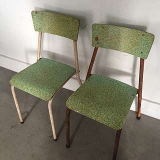 Vintage Formica Chair x 2