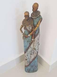Nice African Couple Dislay