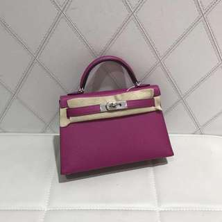 Hermes mini kelly L3 C stamp