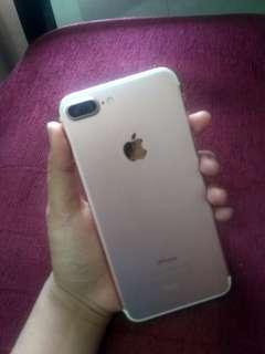 Iphone 7 plus 32GB Rosegold MINUS