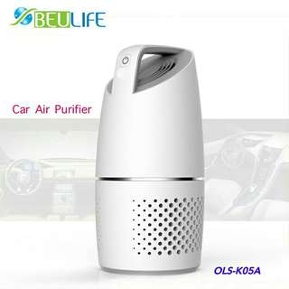 Beulife Car Air Purifier with HEPA Filter OLS-K05A