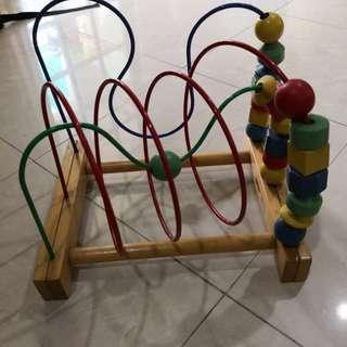 Ikea wooden maze