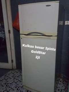 Kulkas besar merk gold star