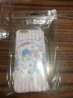電話殼+軟邊玻璃mon貼 Little twins star iphone6/6s