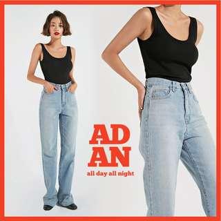 ADAN 基本穿搭系列✨ 歐美風格時尚版型無袖背心 sleevelsee ( CHUU 官網代購 ) basic 上衣
