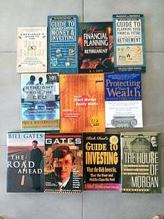 Business Investment Wealth Finance Books