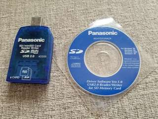 Panasonic SD Card Read and Writer