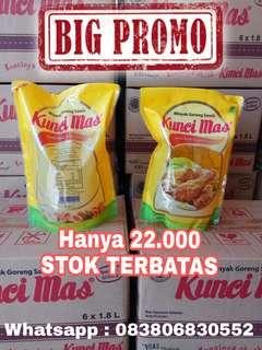 Minyak Goreng KUNCI MAS 1.8 Liter