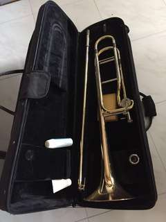 Yamaha tenor trombone (large bore)