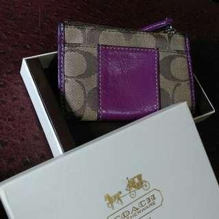 🚚 Coach coinepurse wallet