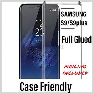 🚚 Samsung S9/ S9plus Tempered Glass Protector