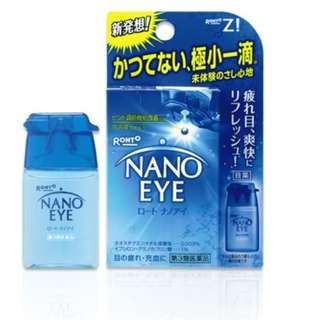 日本樂敦製藥NANO EYE 眼藥水(BLUE)