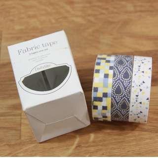 🚚 Decorative Fabric Tape (Twilight) set of 3