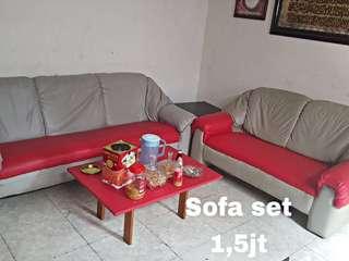 Sofa set ruang tamu SECOND