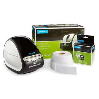 [IN-STOCK] DYMO LabelWriter 450 Thermal Label Printer with 1 Extra Roll of 350 White Mailing Address Labels