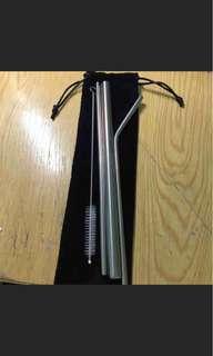 🚚 全新不鏽鋼吸管組