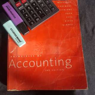 Principles of Accounting by Weygandt