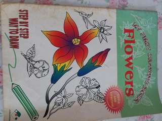 My First Drawing Book - Flowers