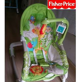 🚚 Fisher Price Infant to Toddler Rocker Chair (USED)