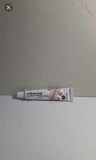 Vitacid obat bekas jerawat #maudecay