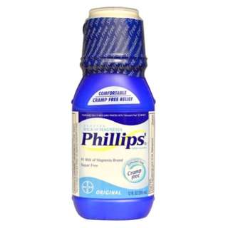 Phillips Genuine Milk of Magnesia Saline Laxative Original 12 fl oz (355 ml)