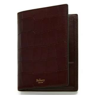 英國代購Mulberry Passport Cover Wallet