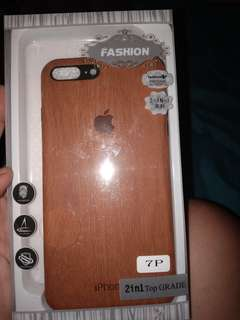 Iphone 7 Plus Case Wood design