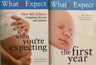 'What To Expect' Baby Series - Bundle of 2 Baby Books