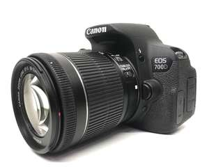 Canon 700D WITH 18-55MM STM