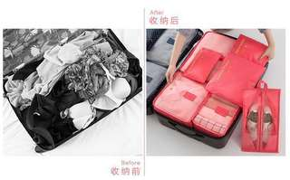 7 in 1 Travel Luggage Organiser