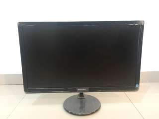 "24"" Inchi IPS LED Philips Monitor"