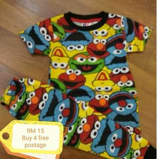 Printed pyjamas elmo