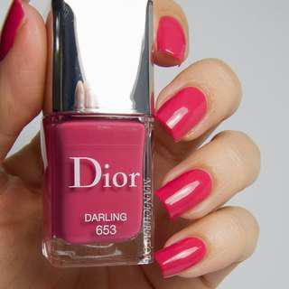Dior Vernis 653 Darling (RRP $40)