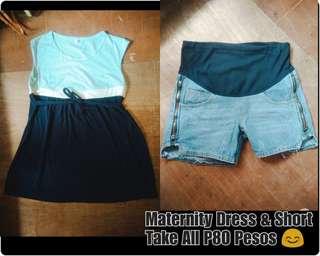 Maternity Dress & Short