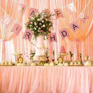 Happy Birthday Banner Bunting F03