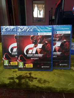 [New] PS4 Games - GT Sports Gran Turismo Sport