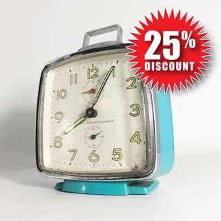 Vintage 60s Seiko Corona Alarm Clock (SCC-01-1217-06)