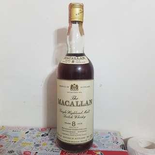 Macallan 8 yo 舊版