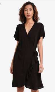 Cotton on wrap dress