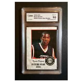 Kevin Durant Rookie Card 2006 Future Star Original Card