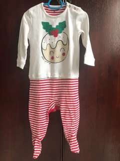 Next Christmas Sleepsuit