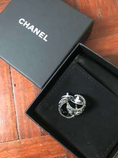 AUTHENTIC NEW Chanel Hoop Earrings