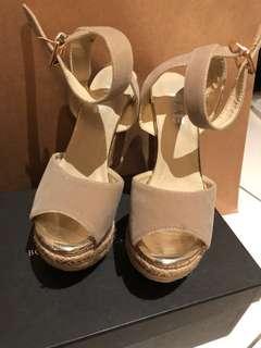 🚚 氣質裸色械型鞋