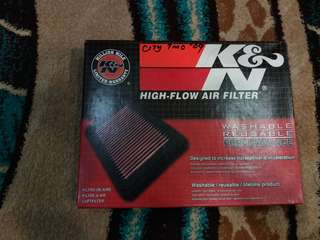 K&N Filter.Honda City 09-13
