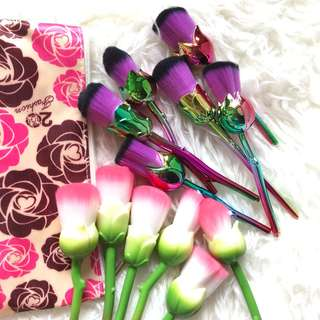 Rose brush set (6 pc) - SALE